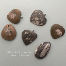Load image into Gallery viewer, Fossil Pendants