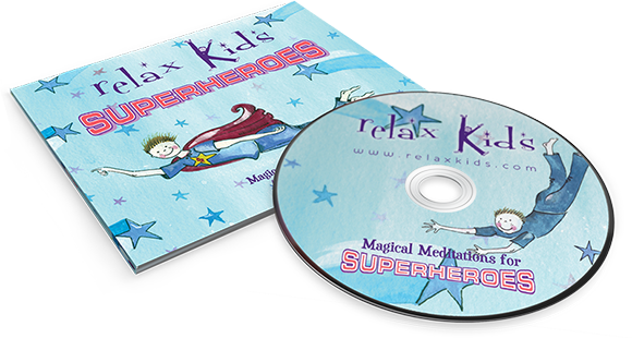 CD Relaxed Kids: SuperHeroes - Children's Meditations