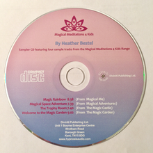 Load image into Gallery viewer, CD Magical Meditations 4 Kids Series: SAMPLER