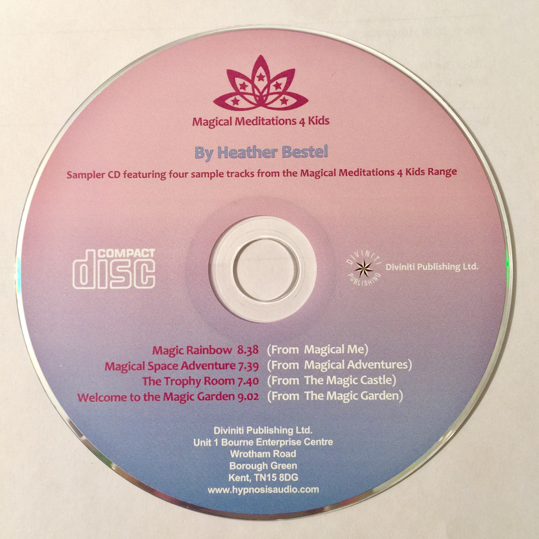 CD Magical Meditations 4 Kids Series: SAMPLER