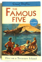 Load image into Gallery viewer, The Famous Five - Book 1 - Five on a Treasure Island - Enid Blyton - USED