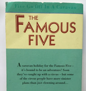 The Famous Five - Book 5 - Five Go Off In A Caravan - Enid Blyton - USED