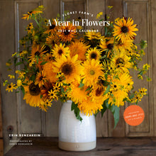 Load image into Gallery viewer, Floret Farm's A Year In Flowers - 2021, Wall Calendar - Erin Benzakein