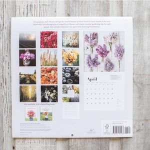 Floret Farm's A Year In Flowers - 2021, Wall Calendar - Erin Benzakein