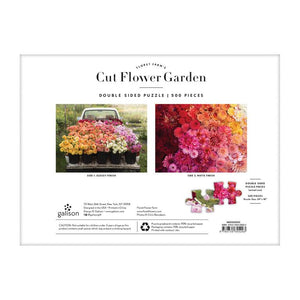 Floret Farm's Cut Flower Garden - 2-sided 500pc Puzzle - Erin & Chris Benzakein