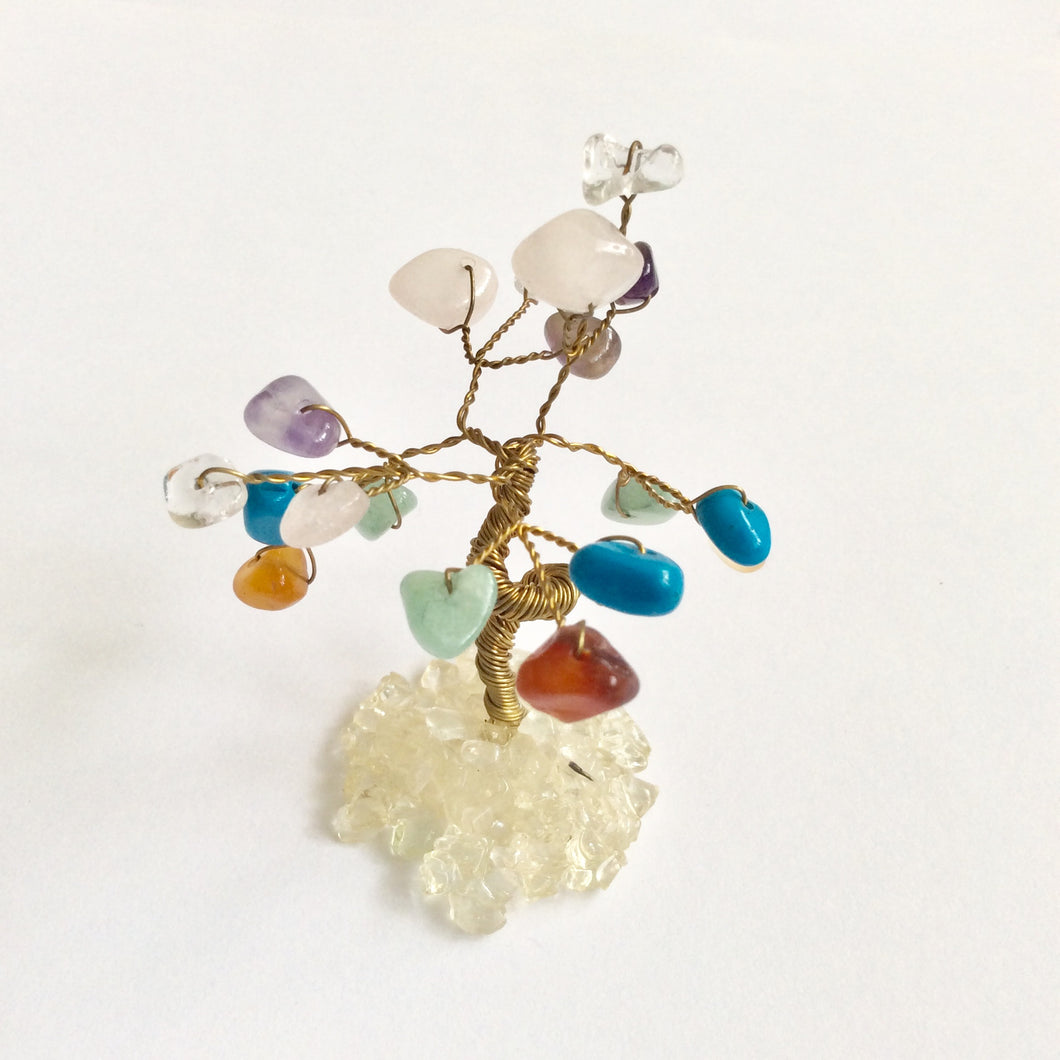 Gem Tree with Crystal Leaves - Mini - Various