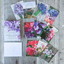 Load image into Gallery viewer, Floret Farm's Cut Flower Garden: Sweet Pea Note Cards - Erin Benzakein