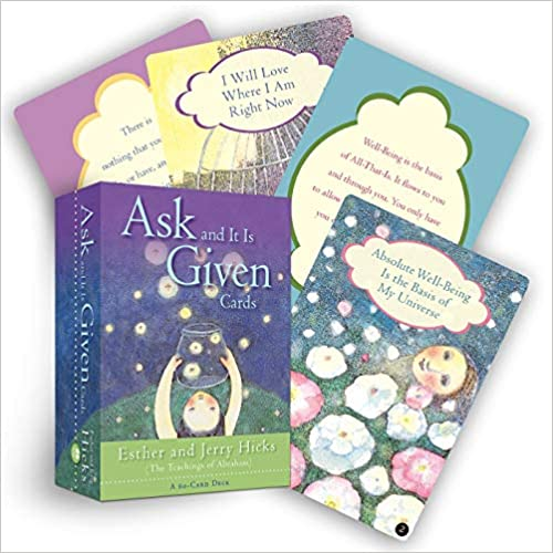 Boxed Card Deck: The Teachings of Abraham - Ask & It Is Given