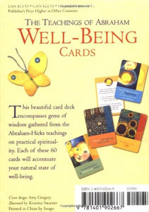 Boxed Card Deck: The Teachings of Abraham - Well-Being