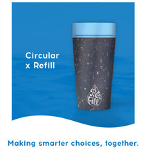 Load image into Gallery viewer, Circular Cup x REFILL - Coffee/Travel Mug - Recycled & Reusable - CHARITY Ed.