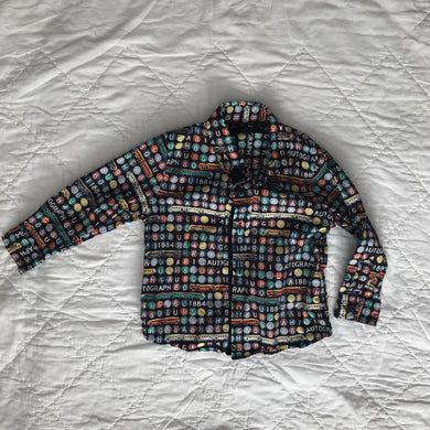 Kids Shirt, Button Up, 1.5-2 Years, M&S