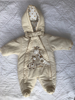 Baby Snowsuit Hooded, Unisex, New Born, Nursery Time