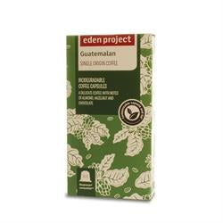 Compostable Coffee Capsules - Guatemalan - Eden Project