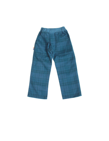 Charlie Rocket Plaid Twill Pants