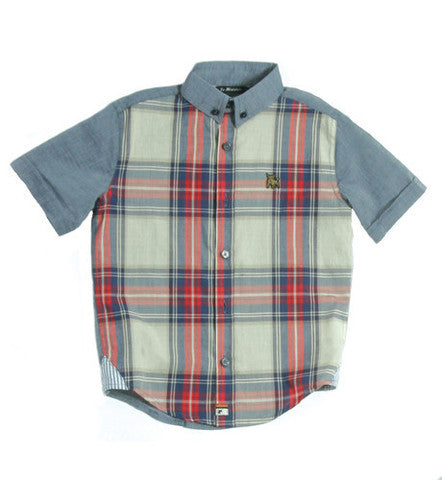 La Miniatura Kids Plaid Shirt