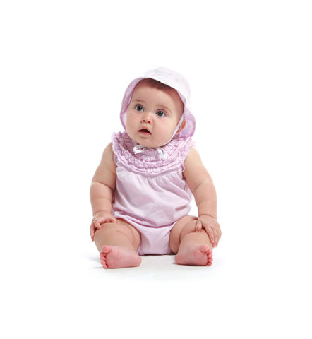 Fiora Rosa 4-Piece Starter Wardrobe for Infants by Gandzee
