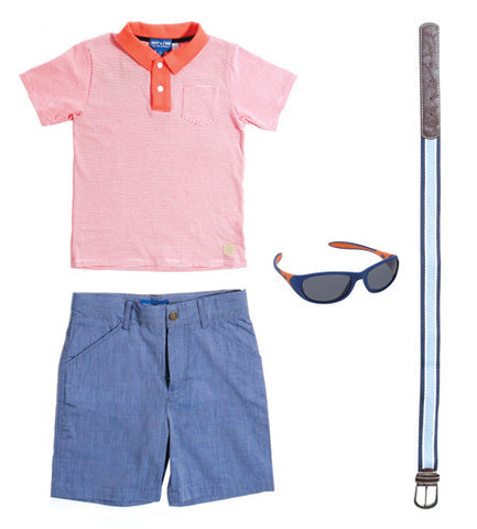 Your Little Gentleman's Tee Time Attire