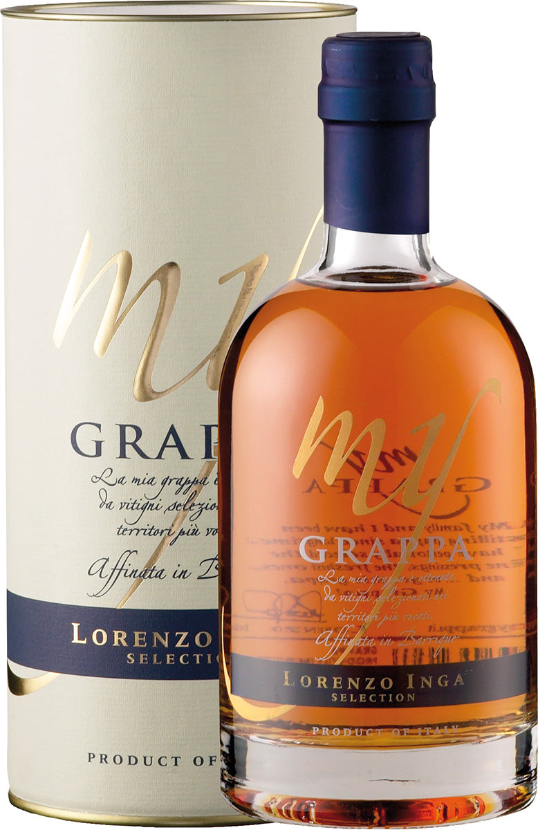 My Grappa Affinata in Barrique Selection 43 % vol. 0,5 l