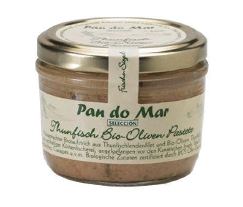 Pan do Mar Thunfisch Bio-Oliven Pastete 125g