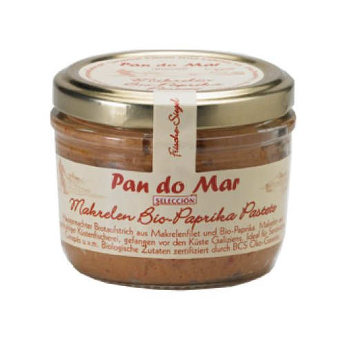 Pan do Mar Makrelen Bio-Paprika Pastete 125g