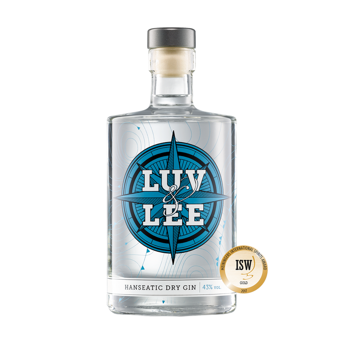 Luv & Lee Hanseatic Dry Gin 0,5 l