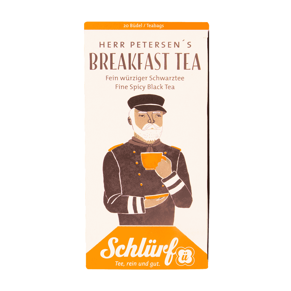 Schlürf Herr Petersen's Breakfast Tea - 20 Büdel