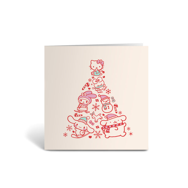Sanrio Christmas Greeting Cards - Pack of 6