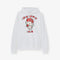 Hello Kitty Gang Rose Graphic White Hoodie
