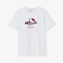 Hello Kitty Gang Telephone Cotton White T-Shirt