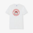 Hello Kitty Gang Logo Cotton White T-Shirt