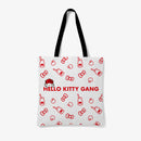 Hello Kitty Gang Pattern Tote Bag