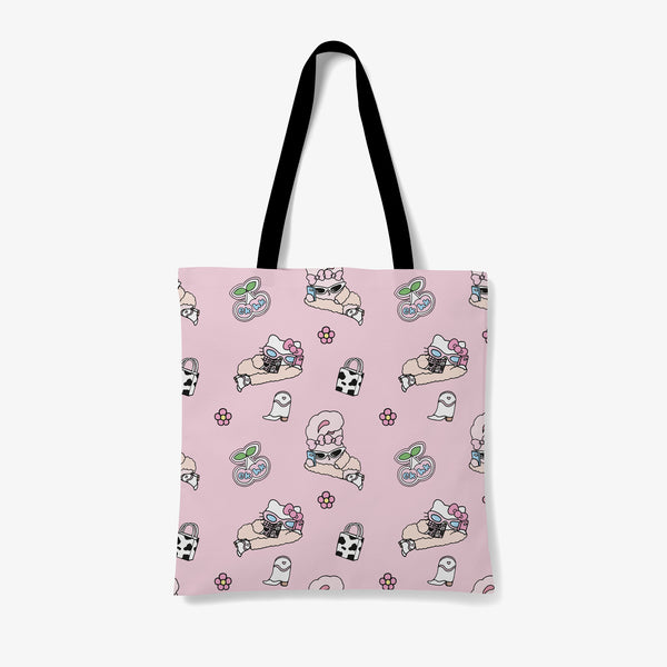 Hello Kitty x Esther Bunny Pattern Tote Bag