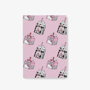 Hello Kitty x Esther Bunny Milk Pattern Notepad