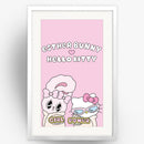 Hello Kitty x Esther Bunny Girl Power Large Art Print