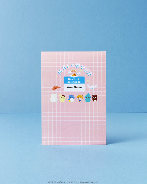 Maì x Sanrio Personalised Notepad