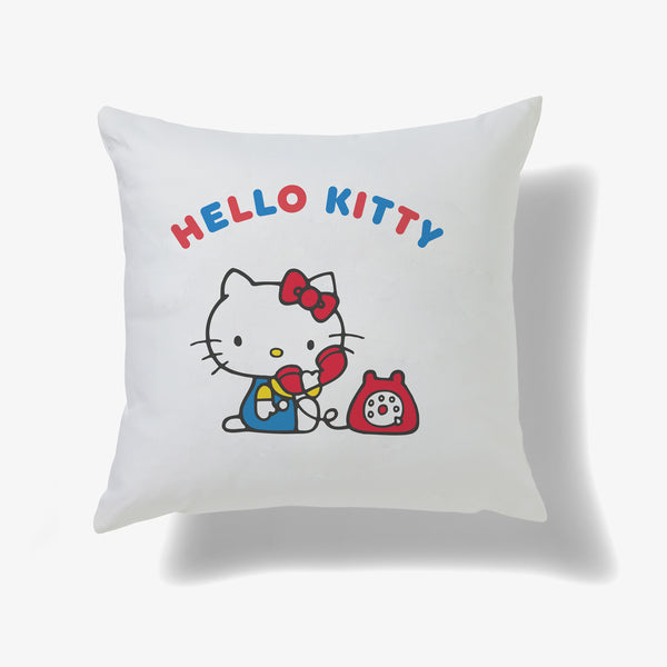 Hello Kitty Phone Personalised Cushion