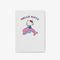 Hello Kitty Dolphin Personalised Notepad