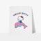Hello Kitty Dolphin Personalised Art Print