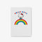 Hello Kitty Rainbow Personalised Notepad