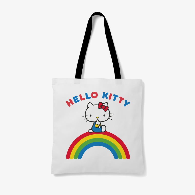 Hello Kitty Rainbow Personalised Tote Bag