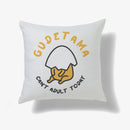 Gudetama Can't Adult Today Personalised Cushion