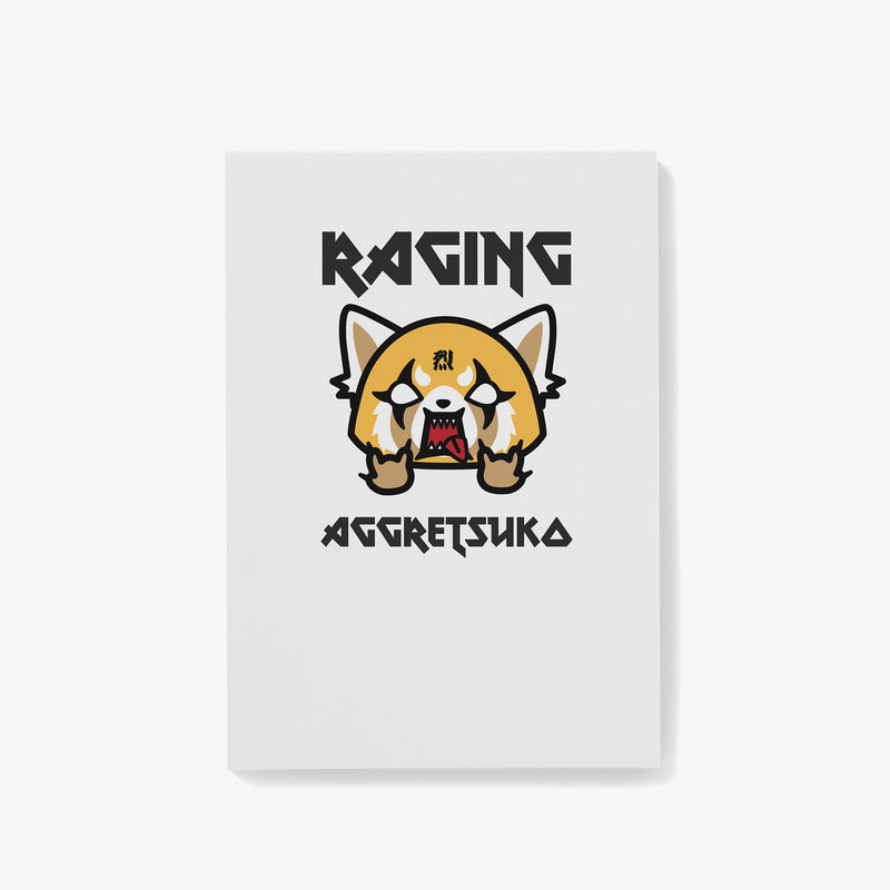 Aggretsuko Raging Personalised Notepad