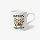 Aggretsuko Raging Personalised Mug