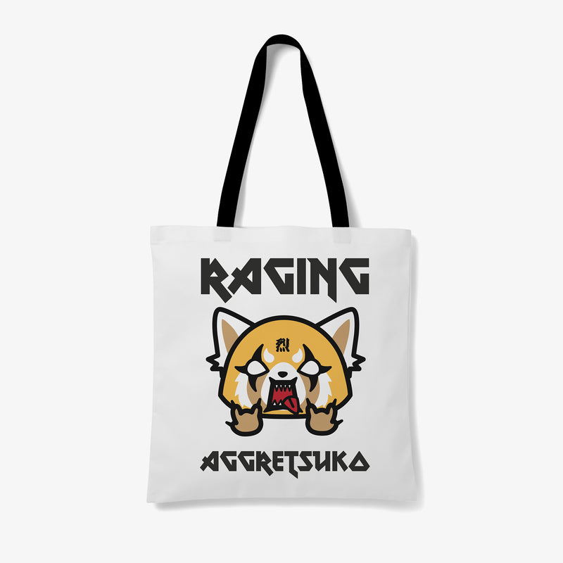 Aggretsuko Raging Personalised Tote Bag