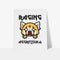 Aggretsuko Raging Personalised Art Print