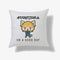 Aggretsuko On A Good Day Personalised Cushion