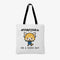 Aggretsuko On A Good Day Personalised Tote Bag