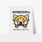 Aggretsuko Before Coffee Personalised Art Print