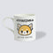 Aggretsuko Before & After Coffee Personalised Mug