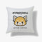 Aggretsuko Before & After Coffee Personalised Cushion